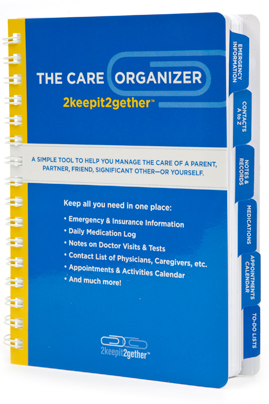elder care giver planners and tools